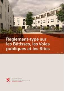 Règlement-type sur les bâtisses, les voies publiques et les sites